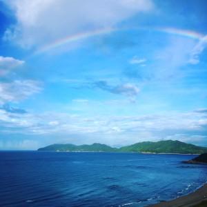 虹ヶ浜のニジ